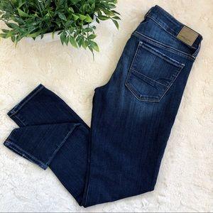 American eagle super stretch skinny jeans 8